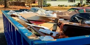 rubbish removal bin